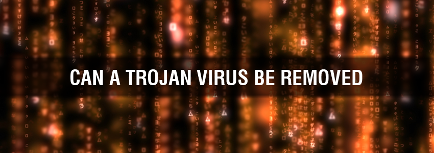 Can a Trojan Virus Be Removed