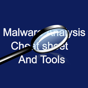 Malware Analysis Tools List