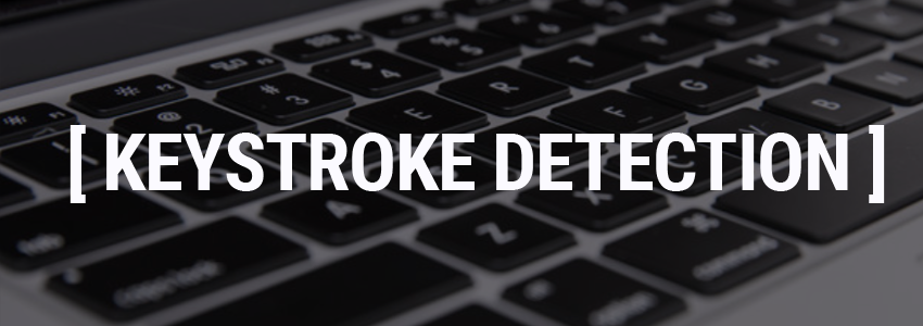 Keystroke Detection